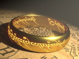 image of the ring from the Lord of the Rings