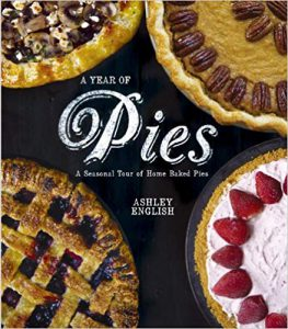 """A year of pies"" book image"
