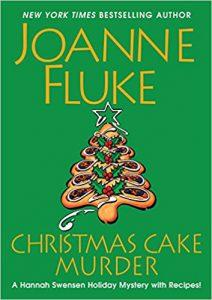 """Christmas cake murder"" book image"