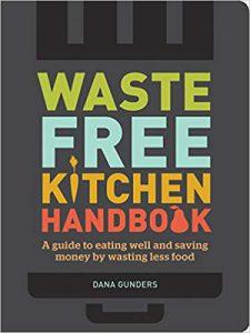 """book image """"Waste free kitchen handbook"""""""