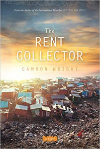 """The rent collector"" book image"