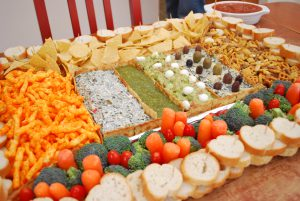 super bowl deluxe snack stadium